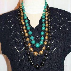 VALENTINO Designer Celluloid Massive Necklace ND11